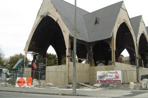 Christchurch destroyed building on corner-3