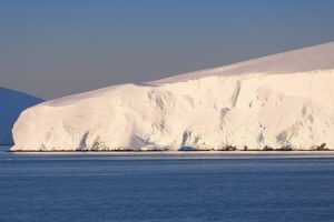 antactic ice shelf - graphic stock
